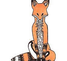 Tribal Fox by WeileAsh