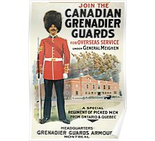 Join the Canadian Grenadier Guards Poster