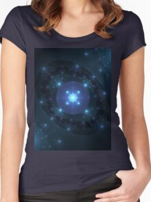 Reflective Bubble World | Future Fashion Women's Fitted Scoop T-Shirt