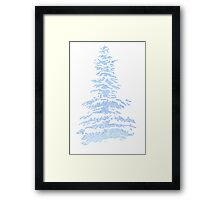 Blue Pine Framed Print