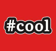 Cool - Hashtag - Black & White Baby Tee