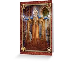 Inheritance - The Keys of Power Greeting Card