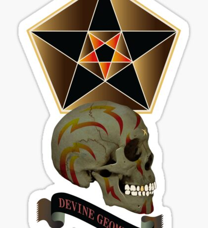 divine geometry Sticker
