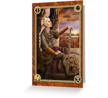 Sovereign - The Keys of Power Greeting Card