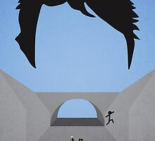 Minimalist Point Break Poster - Johnny Utah by jyingling