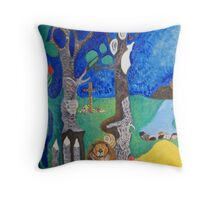 Beaver series continued Throw Pillow