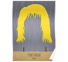 Minimalist Point Break Poster - Bodhi Poster