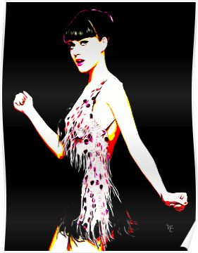 Katy Perry - Teenage Dream - Pop Art by wcsmack