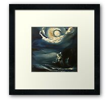 Neil Armstrong's Second Welcome Framed Print