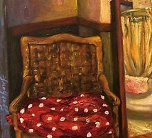Sycamore Canyon Studio Chair by Barbara Sparhawk