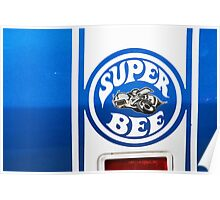 Super Bee Graphic Shirt 2 Poster
