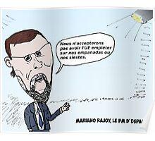 Mario RAJOY en caricature Poster