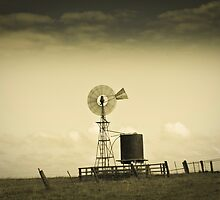 Windmill at Kilarney Western Victoria by DavidONeill