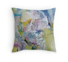 flour mill in the distance Throw Pillow