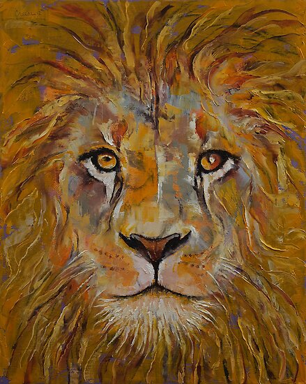 Lion by Michael Creese