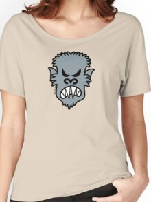 Angry Halloween Werewolf Women's Relaxed Fit T-Shirt