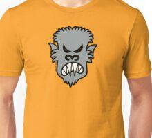 Angry Halloween Werewolf Unisex T-Shirt