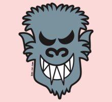 Naughty Halloween Werewolf One Piece - Short Sleeve