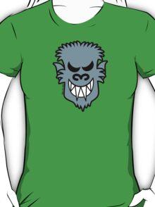 Naughty Halloween Werewolf T-Shirt