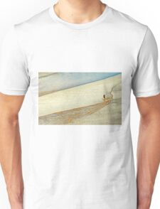 "Shore Surfing, skim surfing on the shallow waves on the beach at ""Avila Beach"" California Unisex T-Shirt"