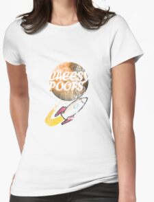Cheesy Poofs Womens Fitted T-Shirt