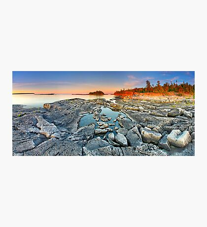 Dunk's Point in Tobermory Photographic Print