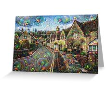 Castle Combe Machine Dreams Greeting Card
