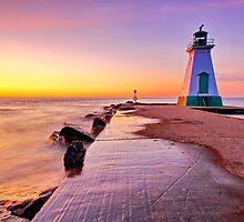 Port Dalhousie Lighthouse by Zoltán Duray