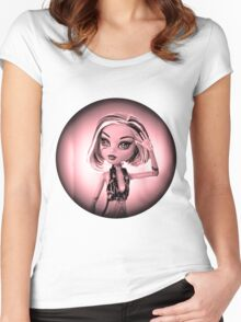 Red Doll Women's Fitted Scoop T-Shirt