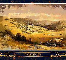 Nazareth, Israel April 28th 1839 by Dennis Melling