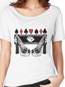 ♥♠♠♥ THE ROYAL FLUSH TEE SHIRT ♥♠♠♥ Women's Relaxed Fit T-Shirt