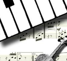 MUSICAL TEE Sticker