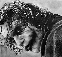 The joker - Batman - Dark Knight - Heath Ledger by Bianca Ferrando