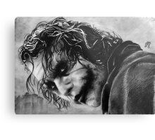 The joker - Batman - Dark Knight - Heath Ledger Metal Print