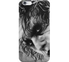 The joker - Batman - Dark Knight - Heath Ledger iPhone Case/Skin
