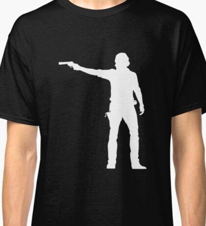 TWD Rick Grimes Silhouette Classic T-Shirt