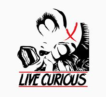 LIVE CURIOUS - Threads by Boo Unisex T-Shirt