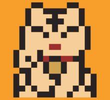 Lucky Cat 8bit-2 by John King III