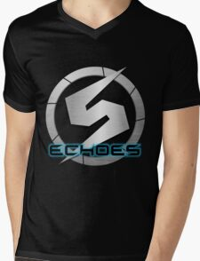 Metroid Prime 2: Echoes/Screw Attack Logos Mens V-Neck T-Shirt