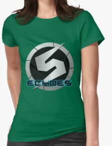 Metroid Prime 2: Echoes/Screw Attack Logos Womens Fitted T-Shirt