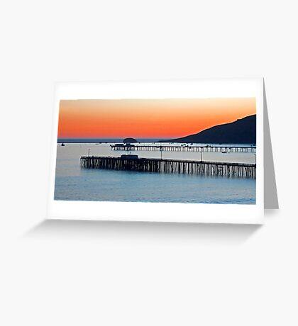 Avila Beach, California Greeting Card