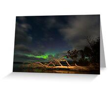 Aurora Australis, Huon Estuary (2nd visit) Greeting Card