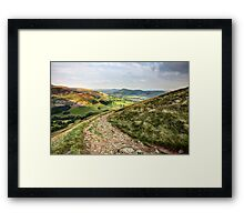 Evening in Edale Framed Print