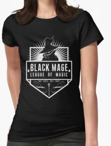 League of Magic: Black Womens Fitted T-Shirt