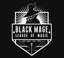 League of Magic: Black Mens V-Neck T-Shirt