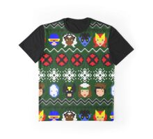 Ugly Christmas Sweater - X-Men Graphic T-Shirt