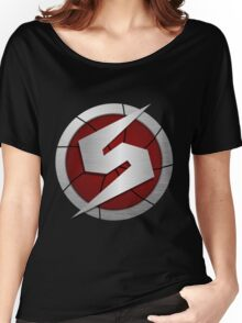 Metroid/Screw Attack Logos Women's Relaxed Fit T-Shirt