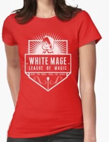 League of Magic: White Womens Fitted T-Shirt