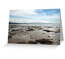 Empty Welsh Beach Greeting Card