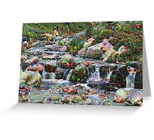 Myrtle Falls Machine Dreams Greeting Card